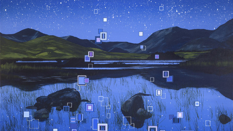 Sky Full of Wishes Artist Signed Giclée Print