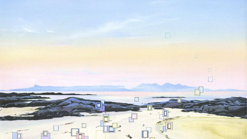 Tranquil Tides Artist Signed Giclée Print