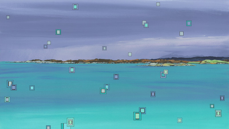 Traigh's Tropospheric Fusion Limited Edition Giclée Print