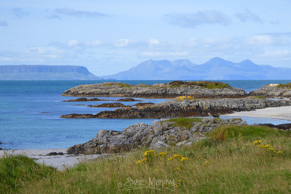 Eigg and Rum from Traigh