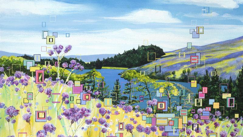 Summer Views Artist Signed Giclée Print
