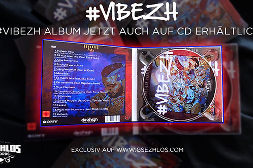 #VIBEZH - GSEZHLOS ALBUM 2019 - AUDIO CD
