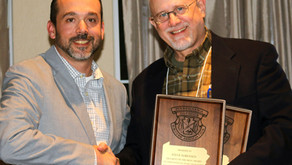 Steve Sorensen wins Top Writing Award