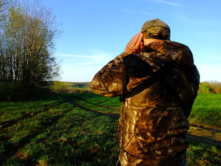 Tips on Turkey Hunting — #7: CUP YOUR HANDS TO YOUR EARS!