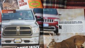 Sorensen named Field Contributor to Deer & Deer Hunting