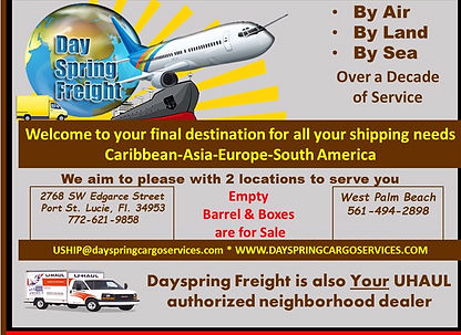 By air-Land-Sea to the Caribbean, Europe, Asia and South America
