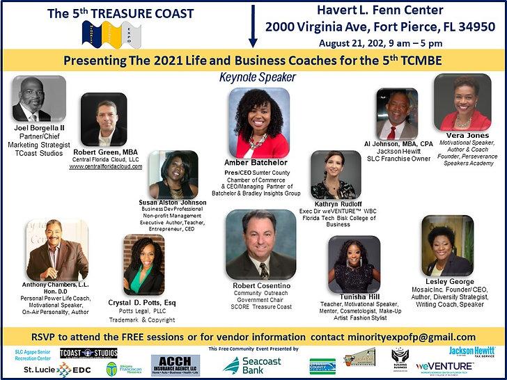TC Minority Business Expo 2021 -Speakers