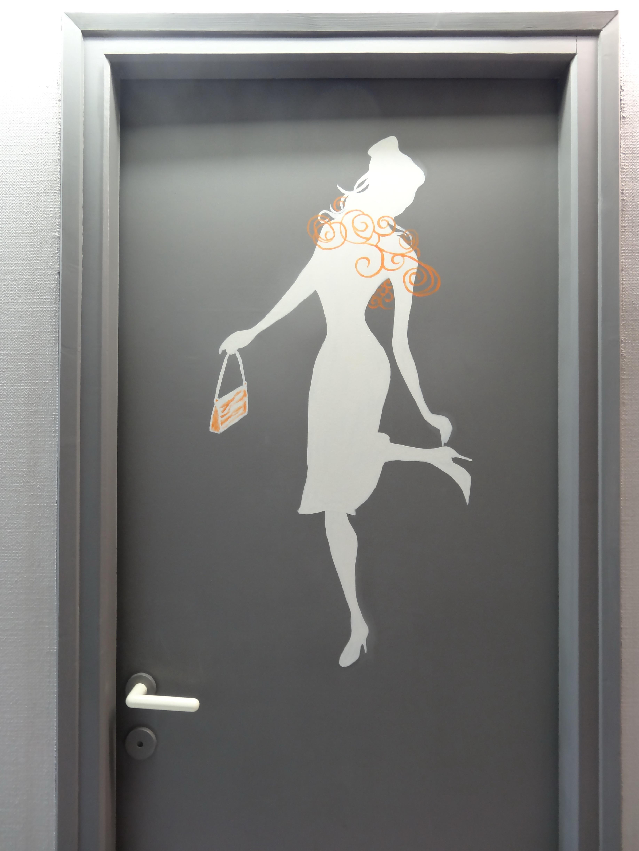 Porte Toilette Femme
