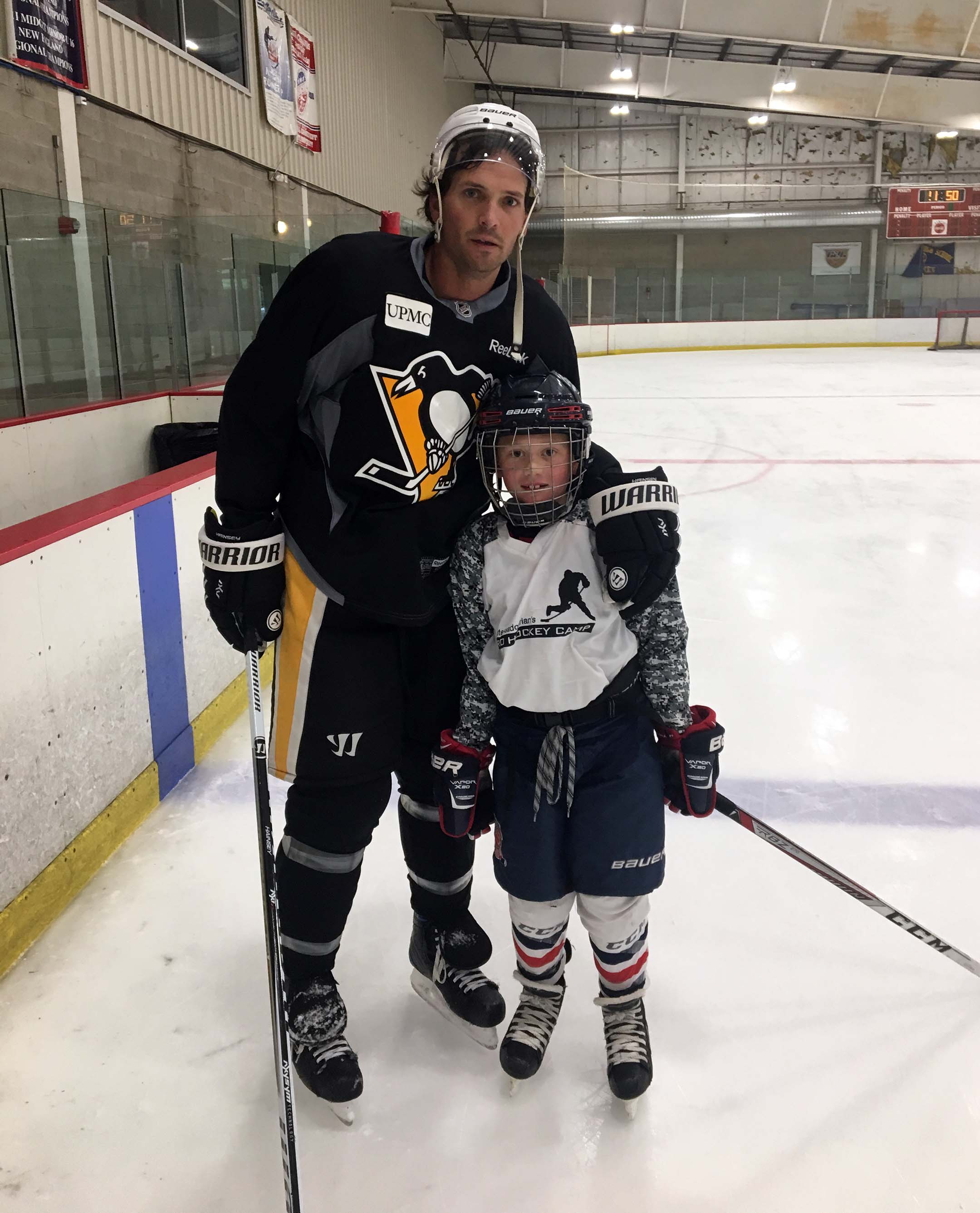Ron Hainsey and Tyson