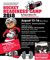 Hockey Readiness Camp 2018