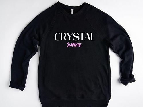 CRYSTAL Junkie Sweatshirt