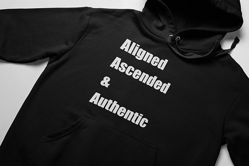 Aligned Ascended & Authentic Hoodie