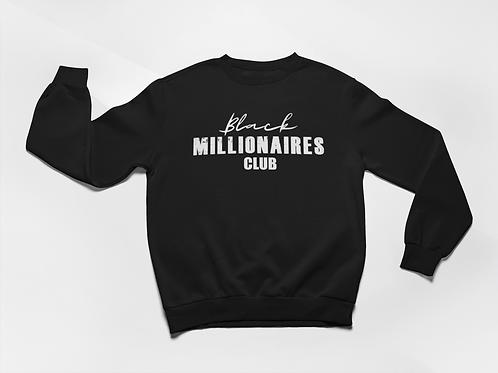 Black Millionaires Club Sweatshirt Black