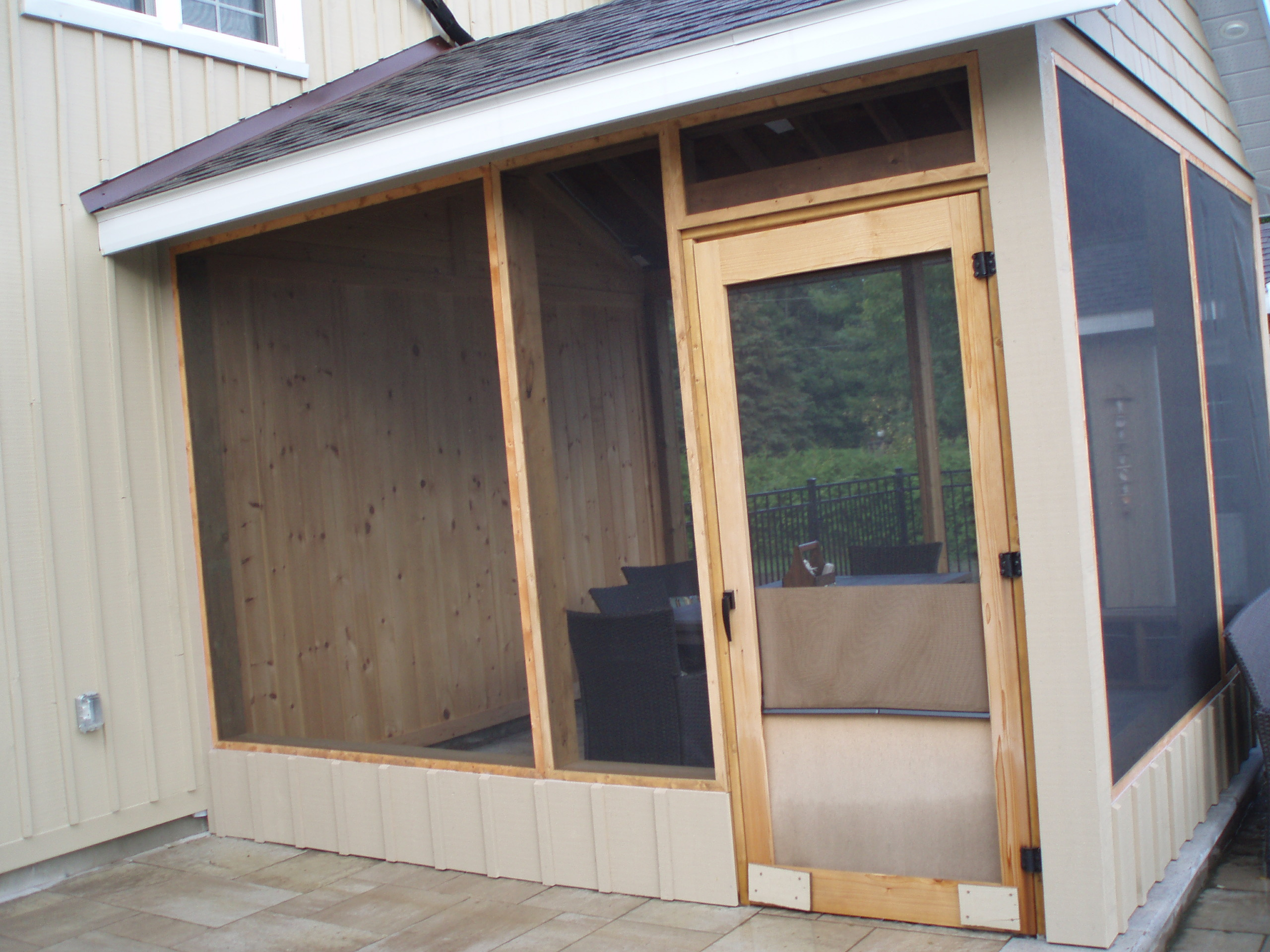 Sunroom enclosure