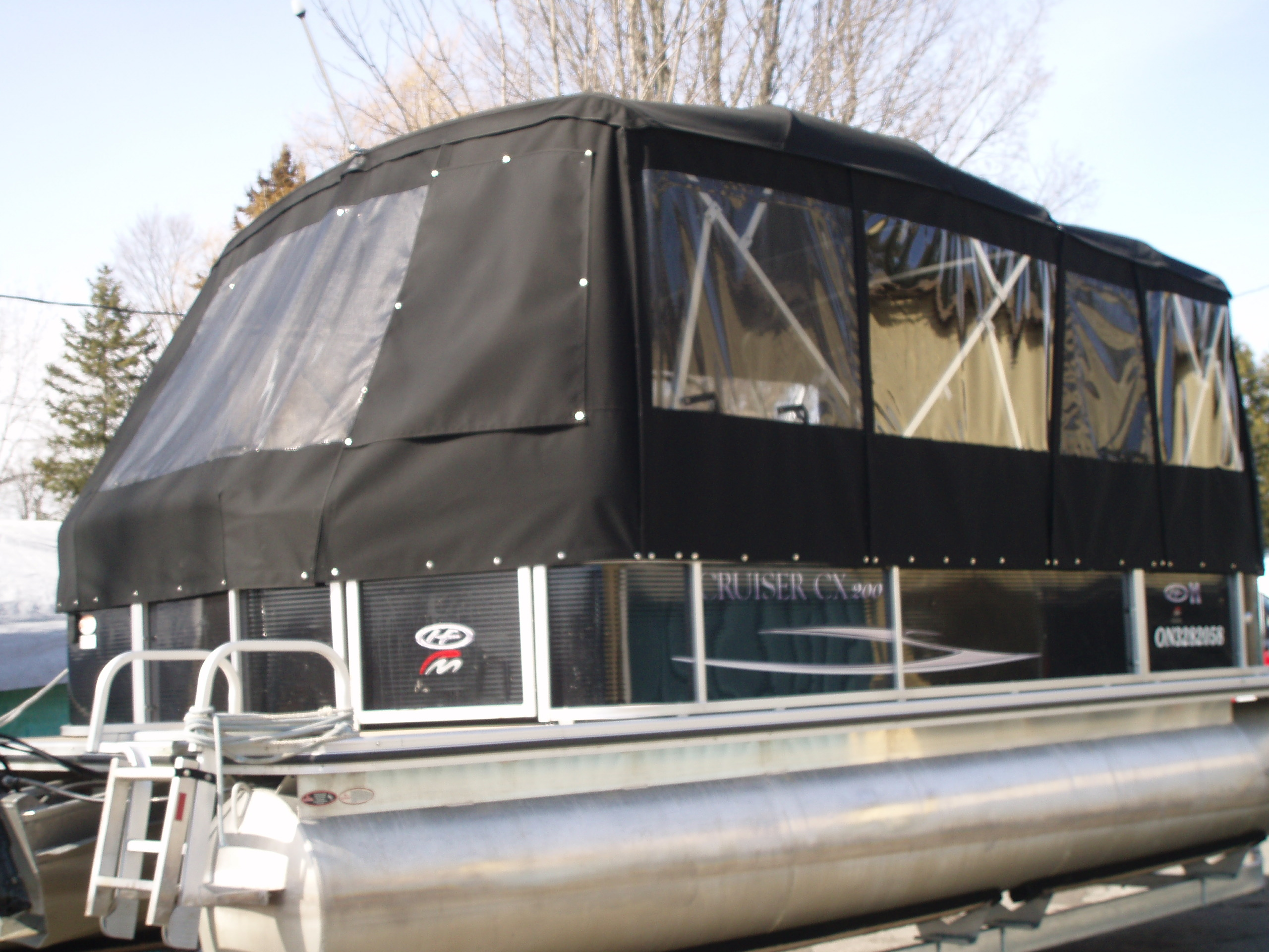 Full Pontoon boat cover