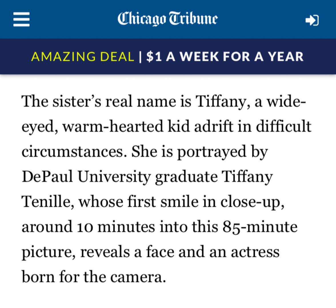 Tiffany Tenille Actress