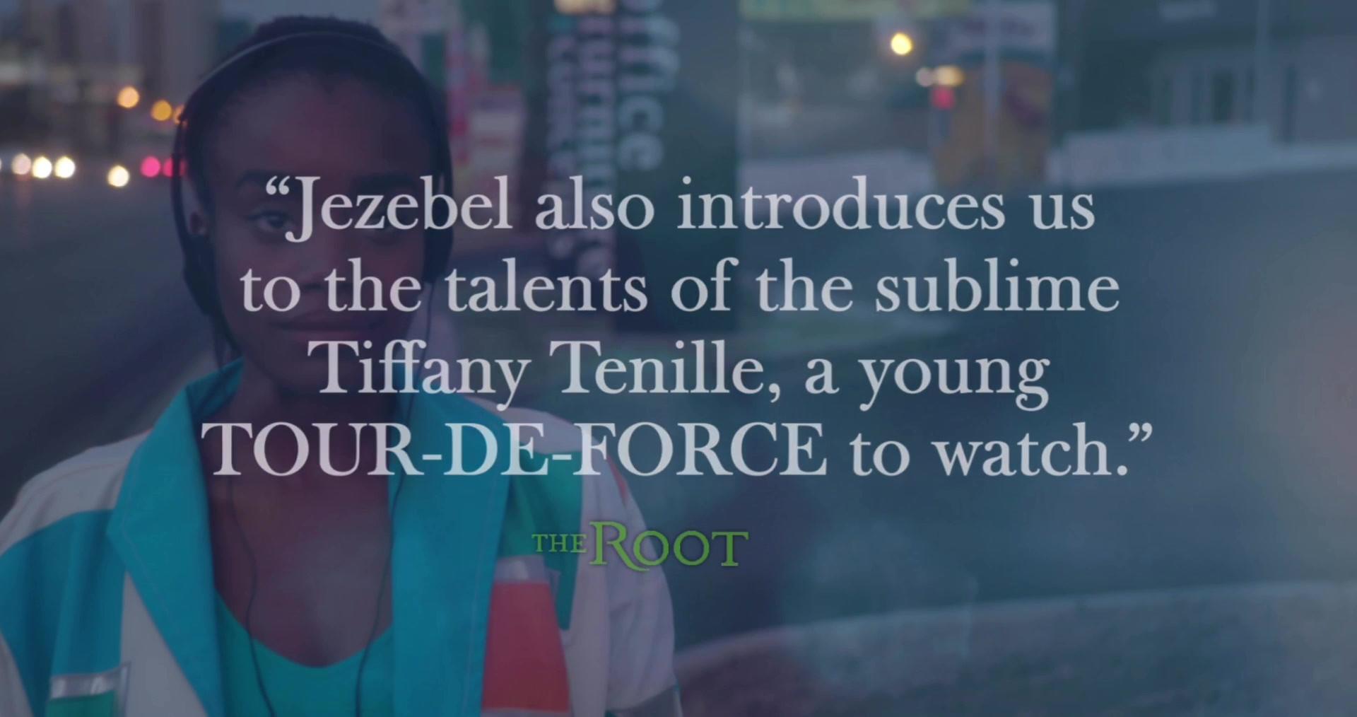 Actress Tiffany Tenille in Jezebel