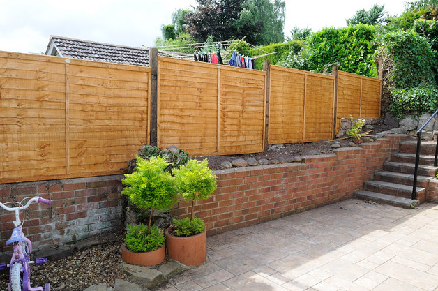 New Fencing Erected