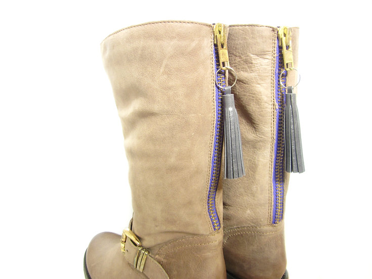 leather tassels for boots