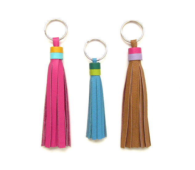 Add >Double< Color Accent Ring To ANY Tassel   Leather Tassel Accent