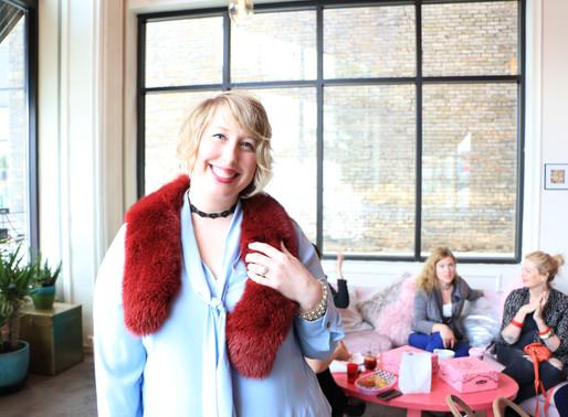 BIZ CRUSH: Thrift Stylist, Michelle Raven