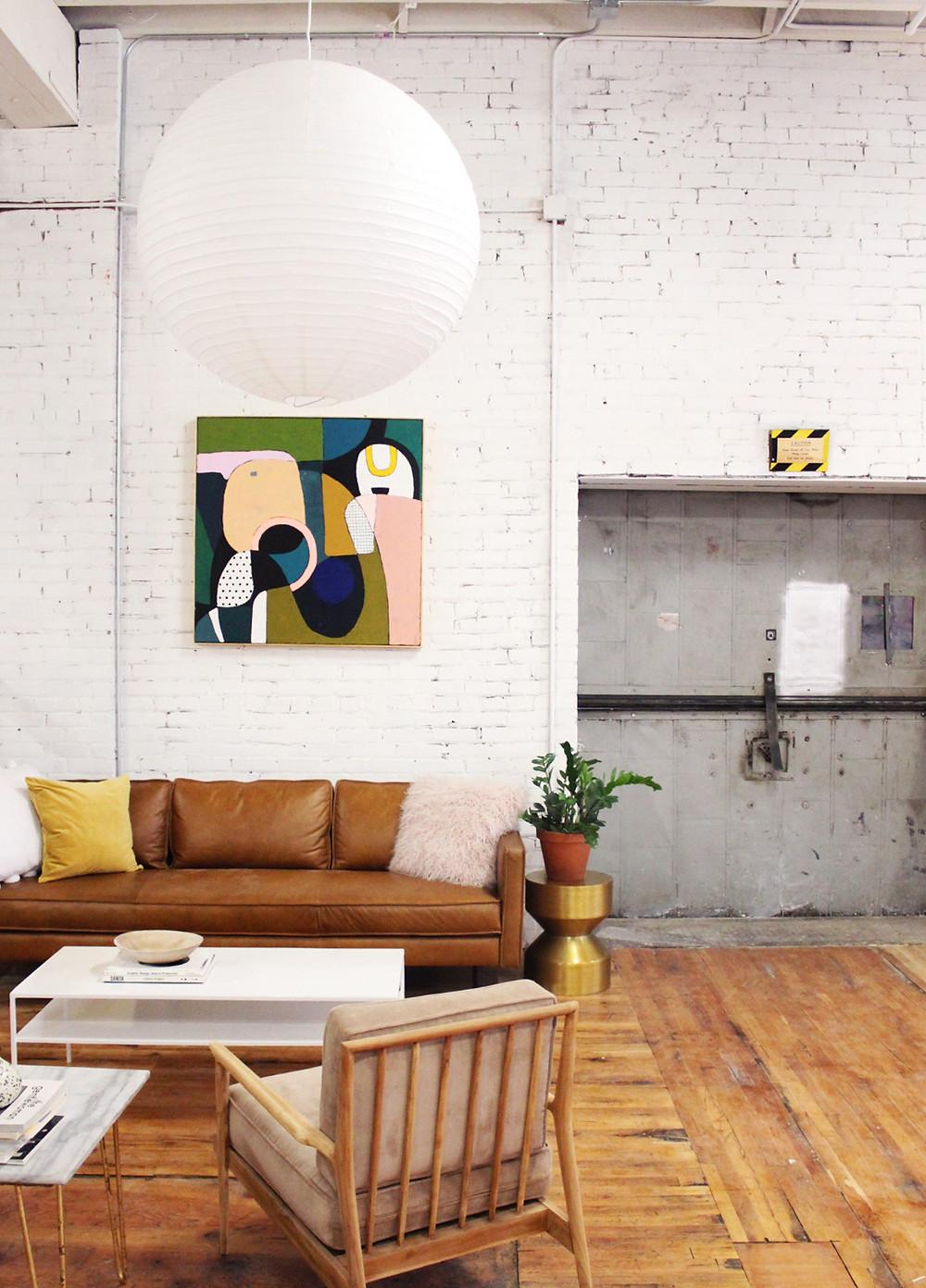 Ashley Mary Art studio