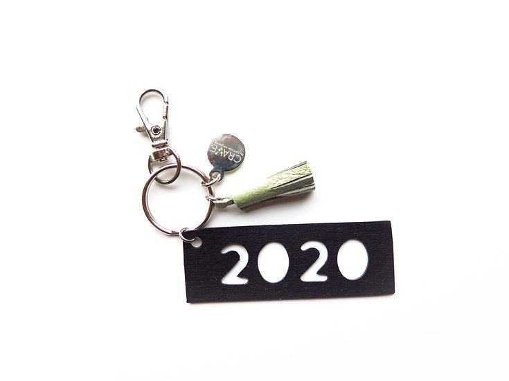 2020 Grad Tassel Keychain | Made from Dilapidated Inflatables