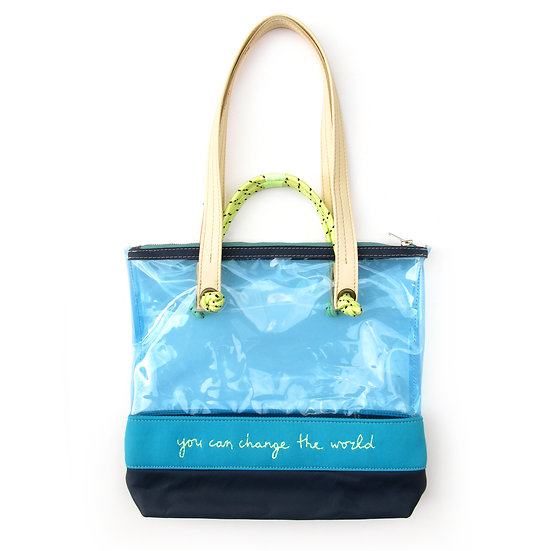 You Can Change The World Up-Cycled Tote
