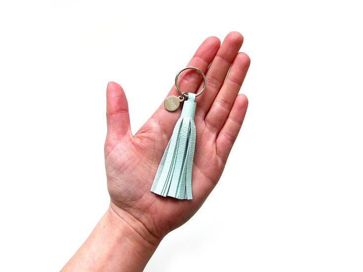 "Not Quite Perfect 3"" Tassel Keychain"