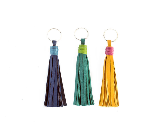 Add A Color Wrap To ANY Tassel | Leather Tassel Accent