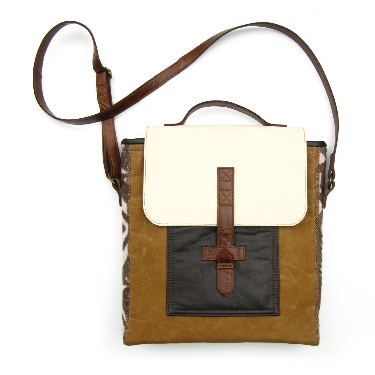 Jensen leather handbag