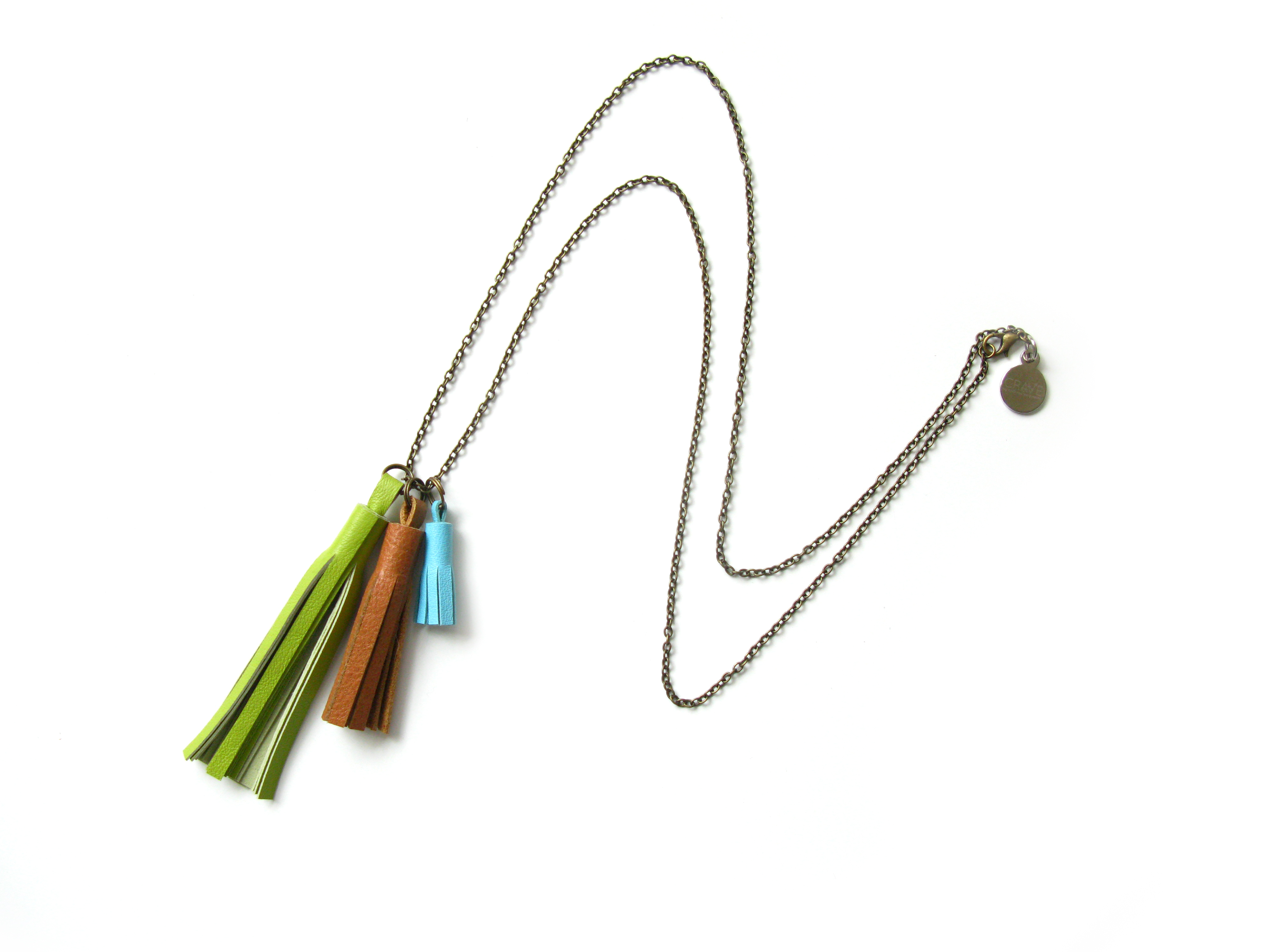 create your own tassel necklace