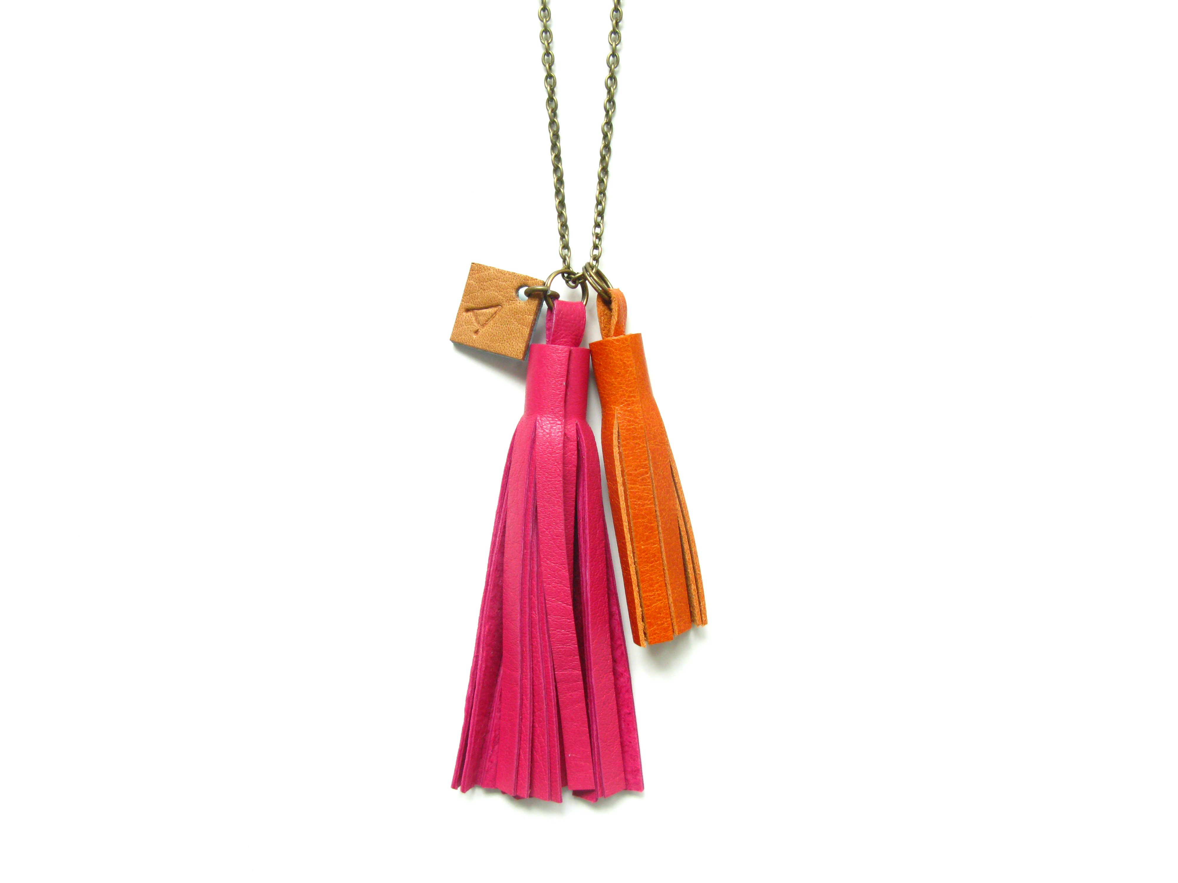 custom tassel necklace