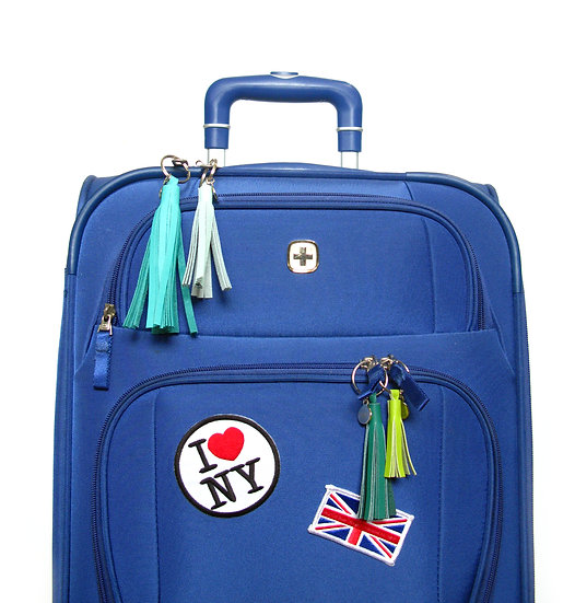 Leather tassel Luggage Identifier