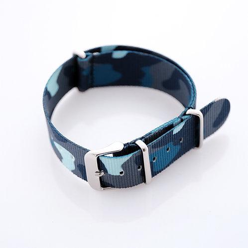 Nylon - Blue - Camo