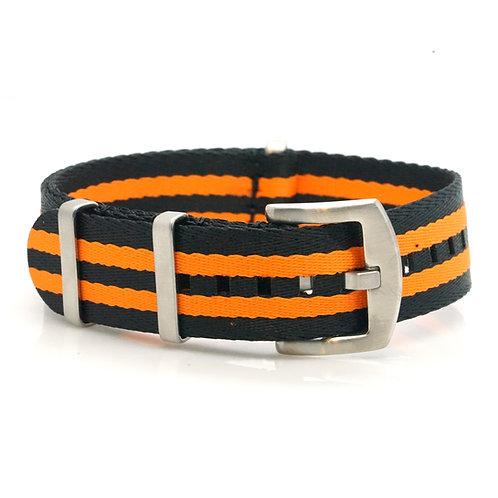 Nato - Seabelt - Black/orange