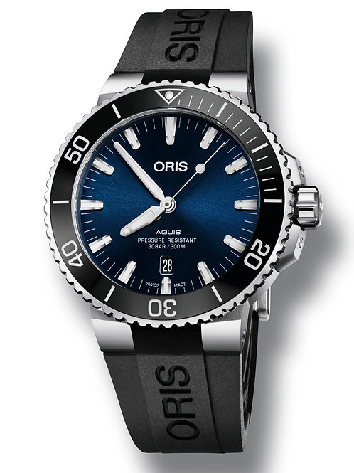 Oris - Aquis Date Blue