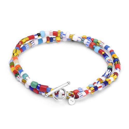 Oskar Gydell -  African color bracelet 2-laps