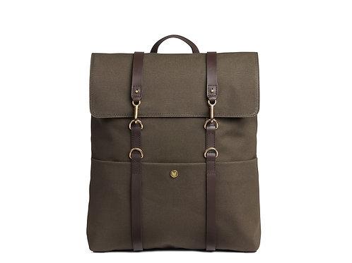 Mismo - Back Pack - Dark brown - Canvas