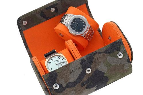 Camo Watch Roll -  Designed by Kristian Haagen