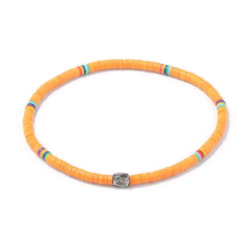 Oskar Gydell - Vinyl color bracelet orange