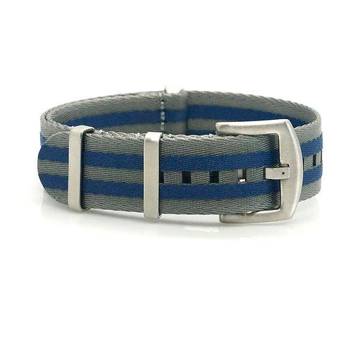 Nato - Seabelt - Grey/Blue