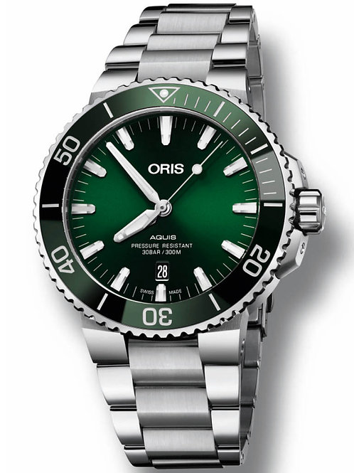 Oris - Aquis Date Green