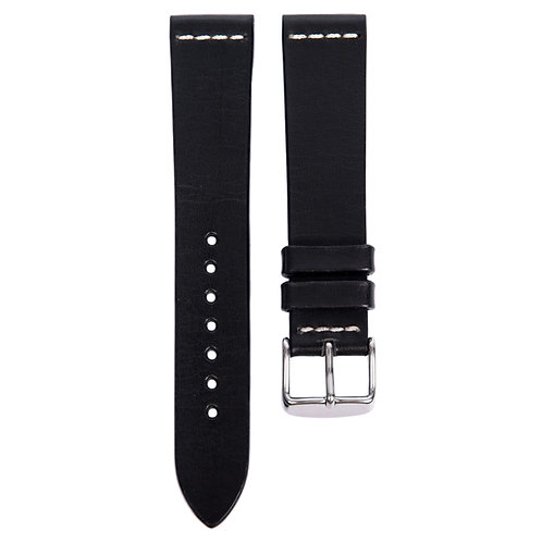Cross Stitch Leather Black