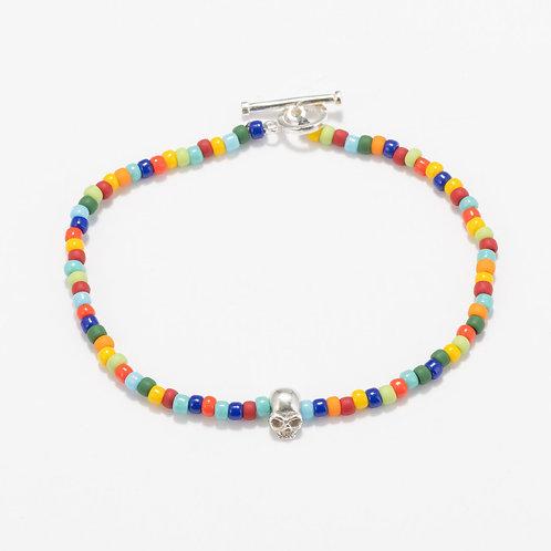 Oskar Gydell - Toho color bracelet with skull
