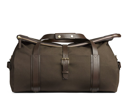 Mismo - Travel Bag - Dark brown leather