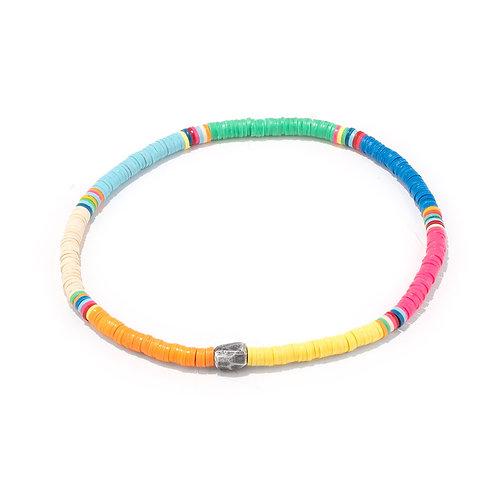 Oskar Gydell - Vinyl rainbow bracelet small