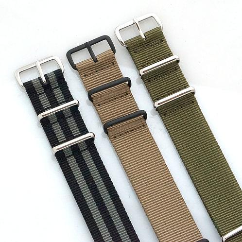 Sale - NATO - Nylon - 3 straps