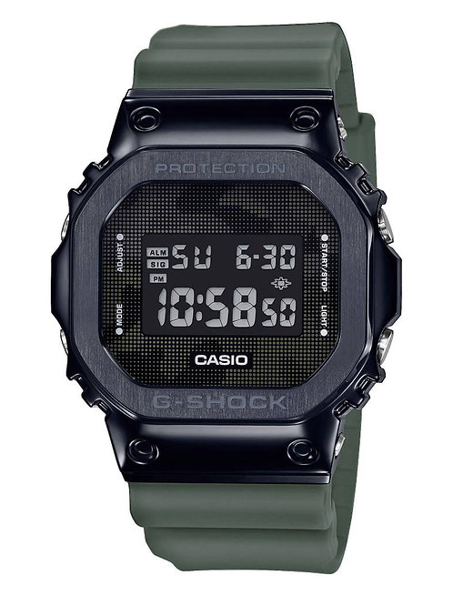 Casio - GM-5600B-3ER  Metal Bezel - Camo