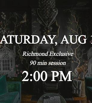Richmond Exclusive - 2:00pm on Saturday 8/14